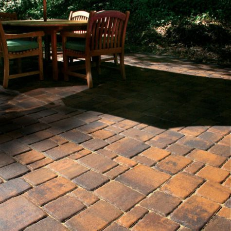 Paver Shield Colonial Cob Oyster
