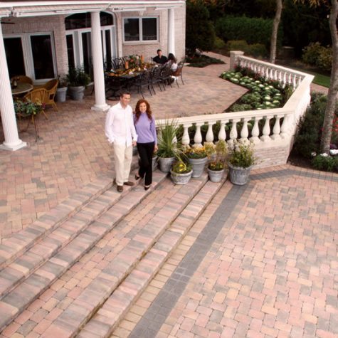 Paver Shield Country Bayberry Large Patio