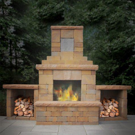 Verona Fireplace Kit