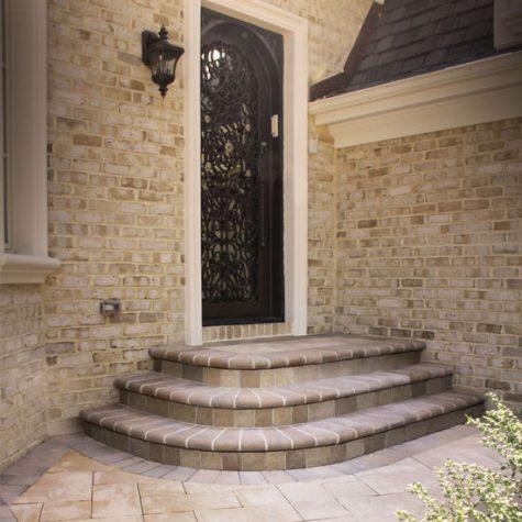 Front entry Fullnose steps